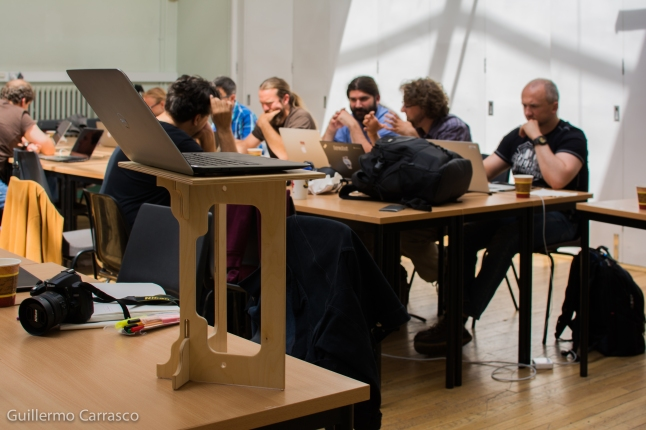 People working at BOSC Codefest 2015